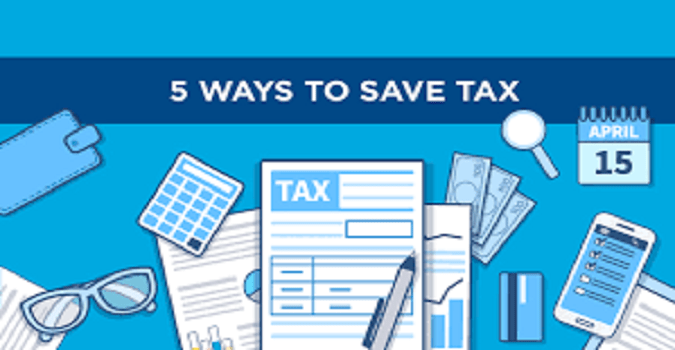 5 ways to save tax