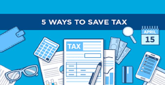 5 ways to save tax
