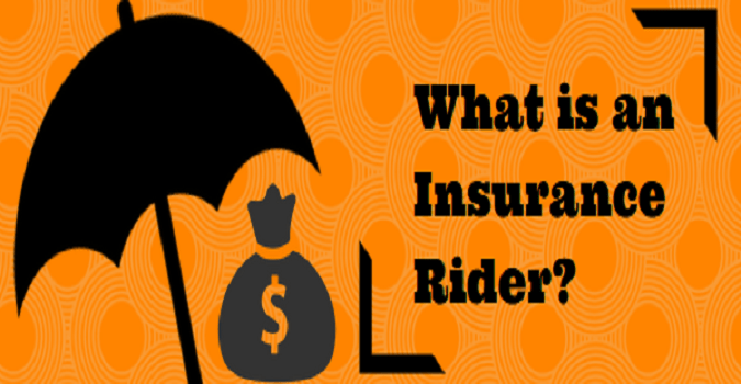 riders in a life insurance policy
