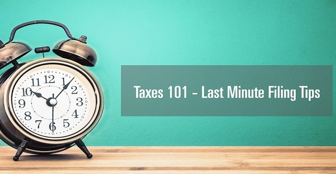 last minute filing tips