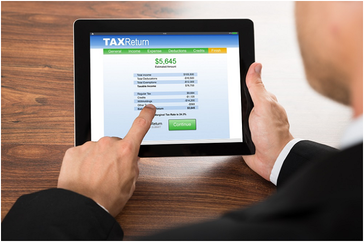 submit tax return online
