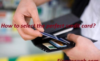 select perfect credit card