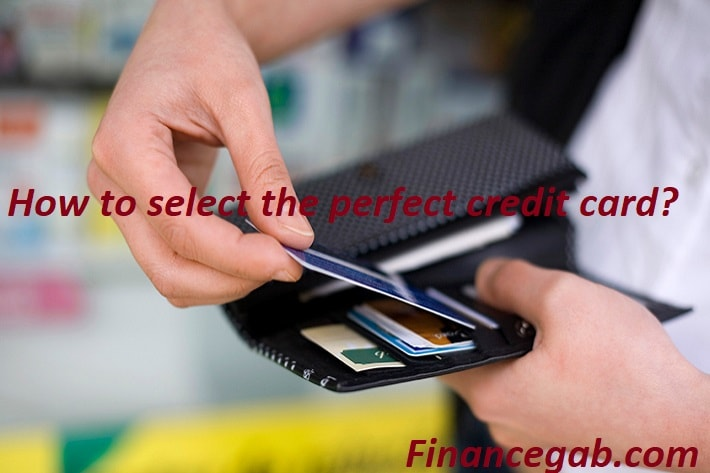select perfect credit card