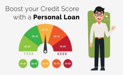 improve CIBIL score using a personal loan