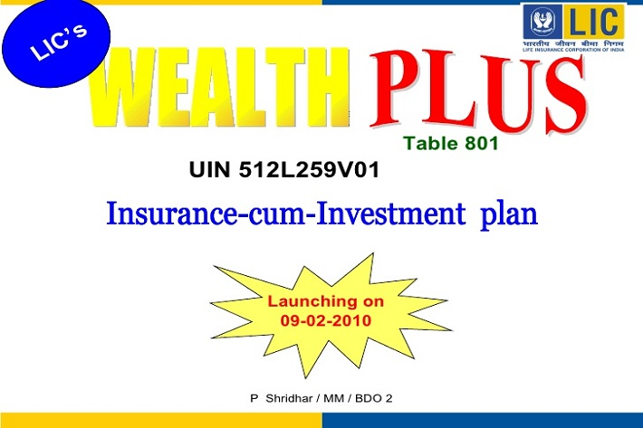 lic wealth plus plan