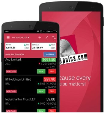 5Paise Online Trading App